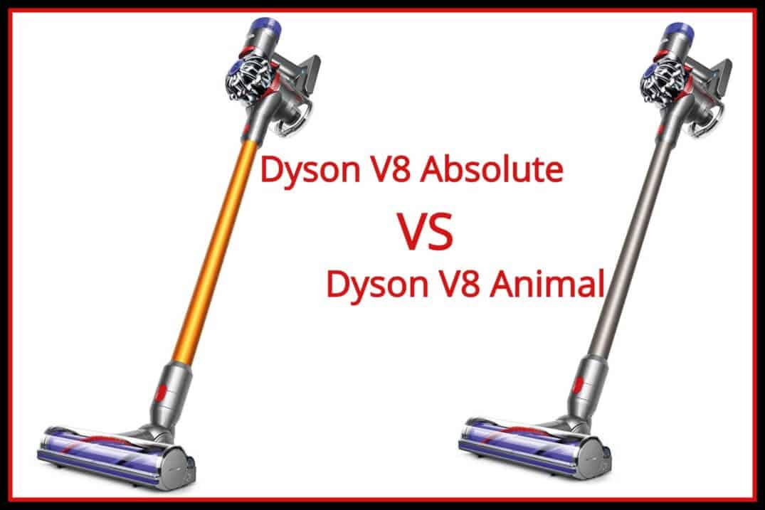 Dyson V8 Absolute vs V8 Animal