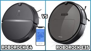 comparison of roborock e4 and e35 models