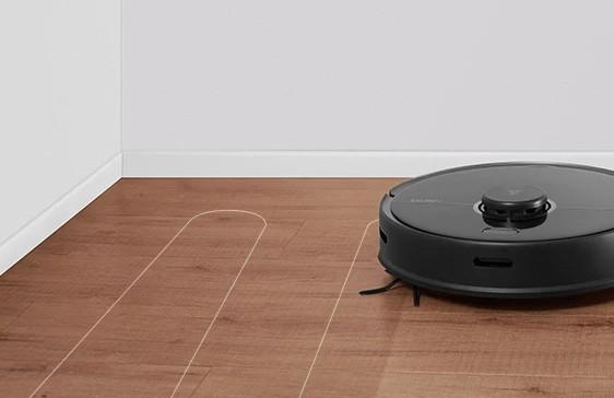 roborock s5 max mopping hardwood floor
