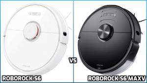 Comparison of Roborock S6 and S6 MaxV