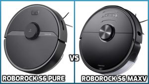 comparison of roborock s6 pure and s6 maxv