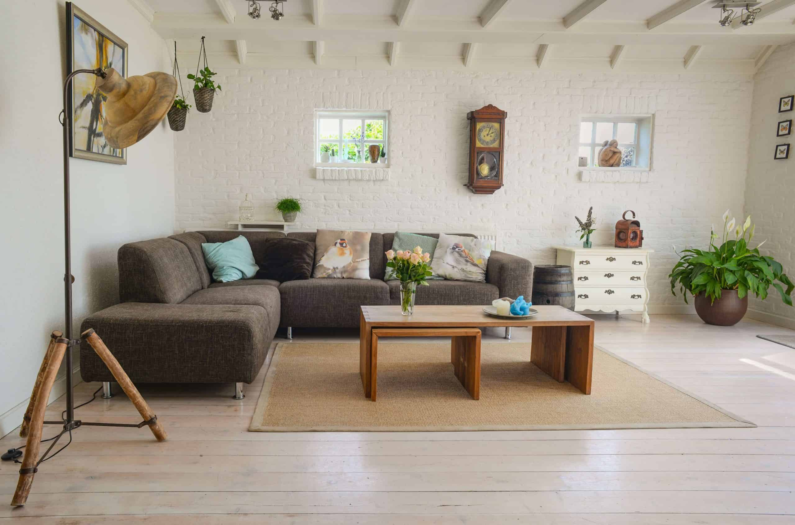 simple and healthy interior design
