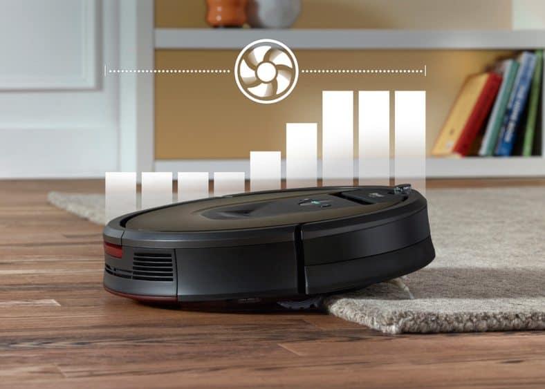 981 Carpet boost feature