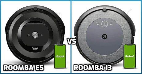 Comparison of Roomba e5, i3 models