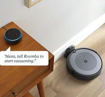 Voice commands Roomba model