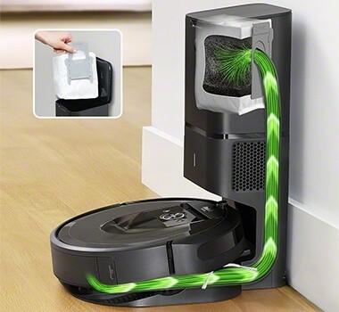 Roomba i7 plus clean base
